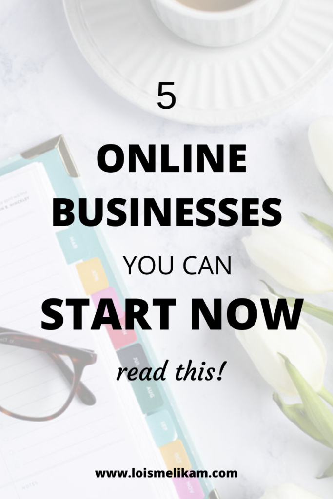 5 Online Business You can start today