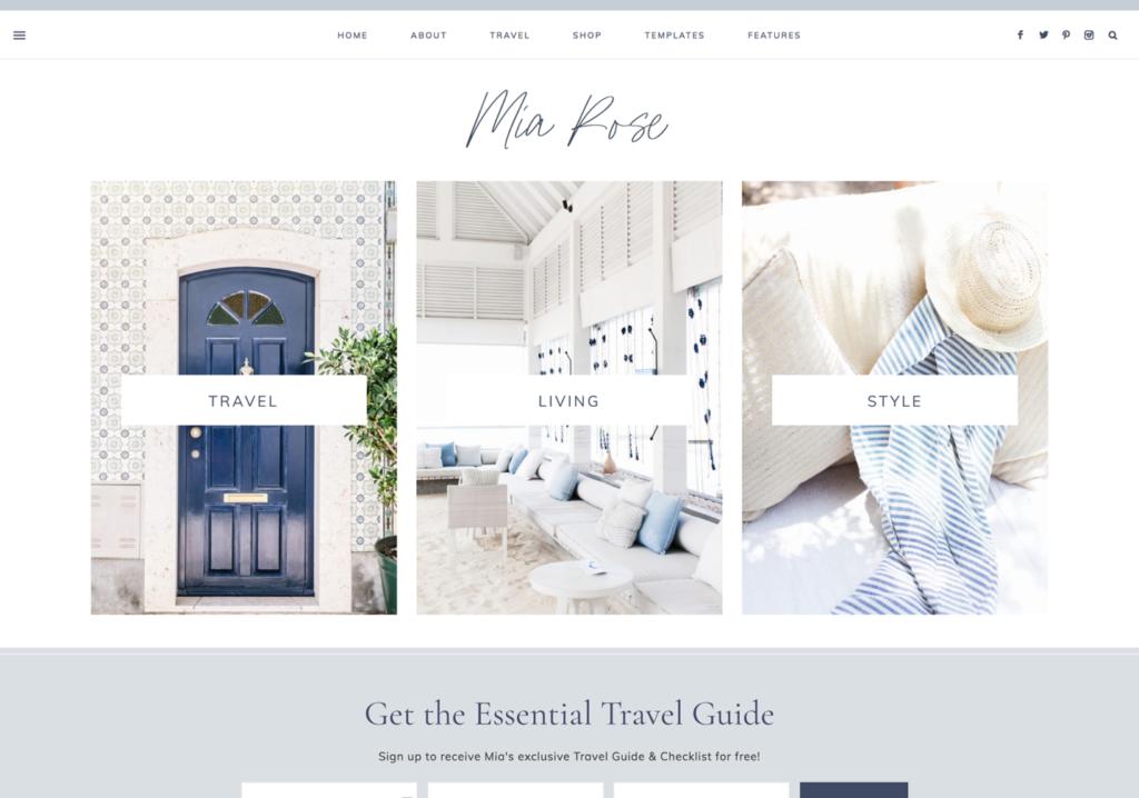 best feminine wordpress theme for bloggers