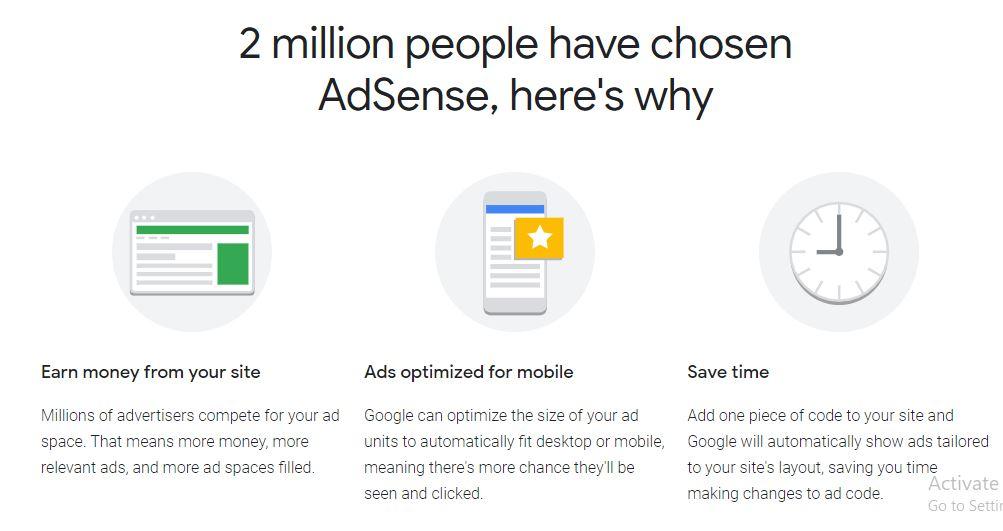 Login to Google Adsense Account