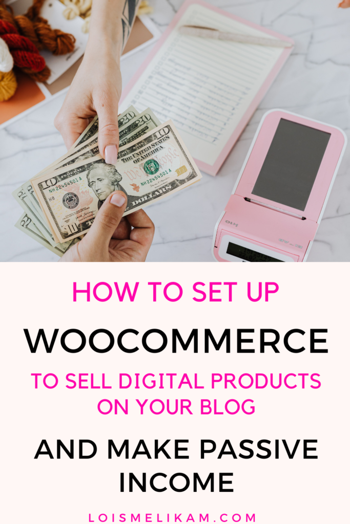 how to set up woocommerce